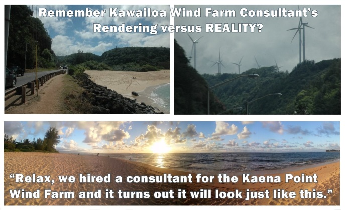 Kawailoa Rendering Kaena Point Fisheye